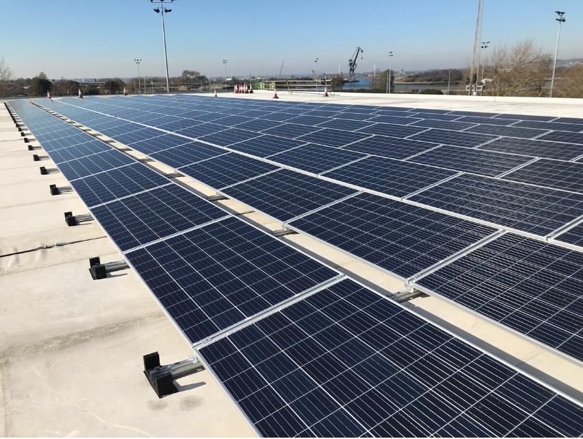 Solar PV on Gymnastic Centre
