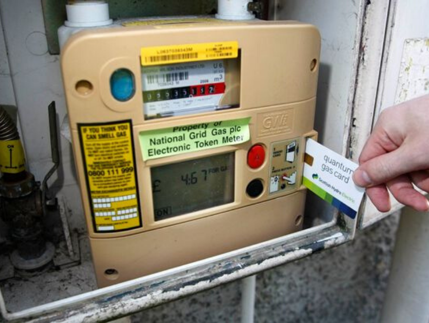 Quantum gas meter