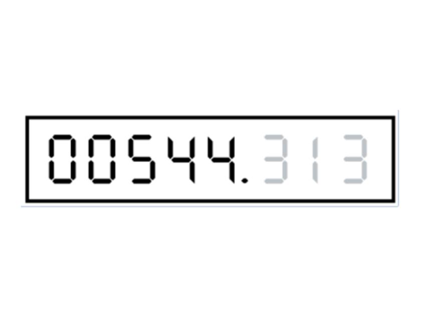 Digital metric meter