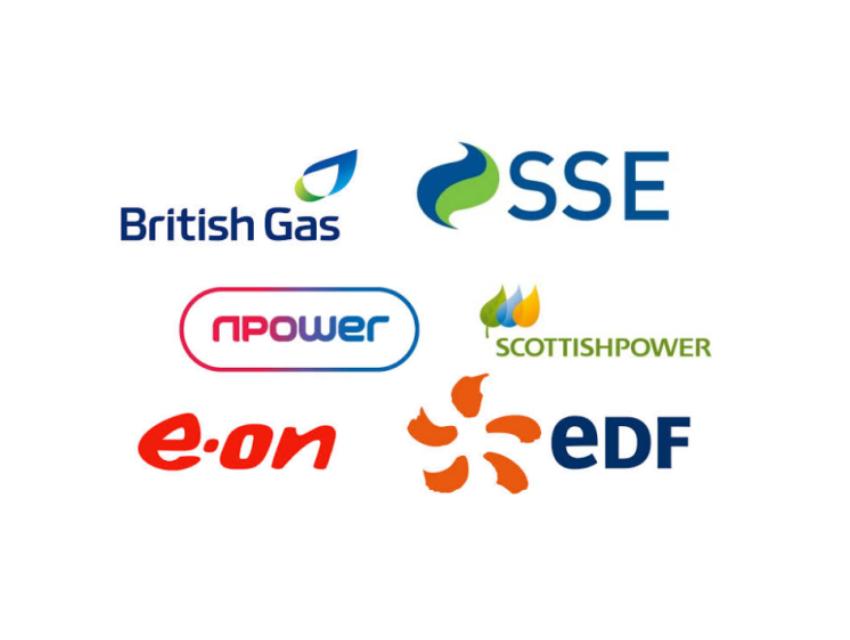 Big 6 energy providers