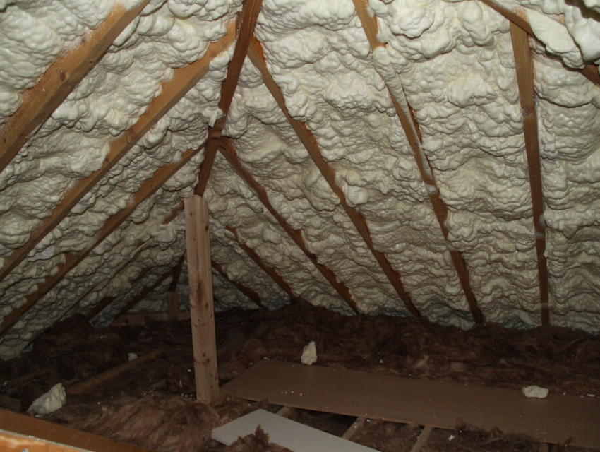 Loft and roof insulation