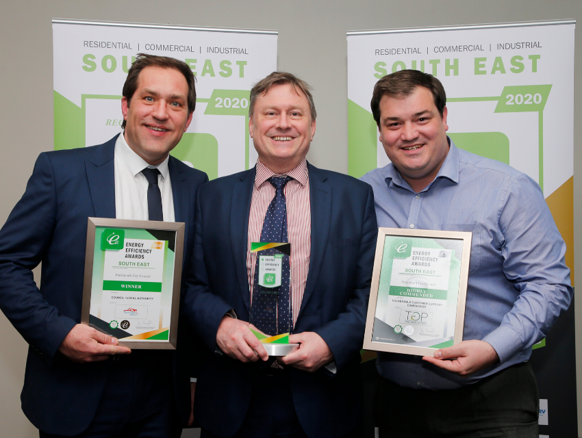 energy efficiency award win 2020