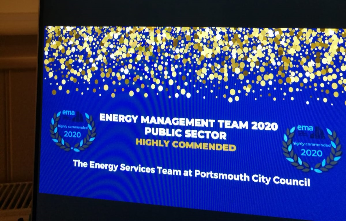 Energy scoops award